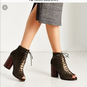 Jeffery Campbell 'Free Love' Lace-Up Heel